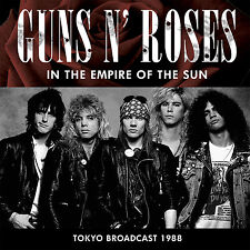 GUNS N ROSES New 2017 UNRELEASED 1988 APPETITE TOUR TOKYO JAPAN LIVE CONCERT CD