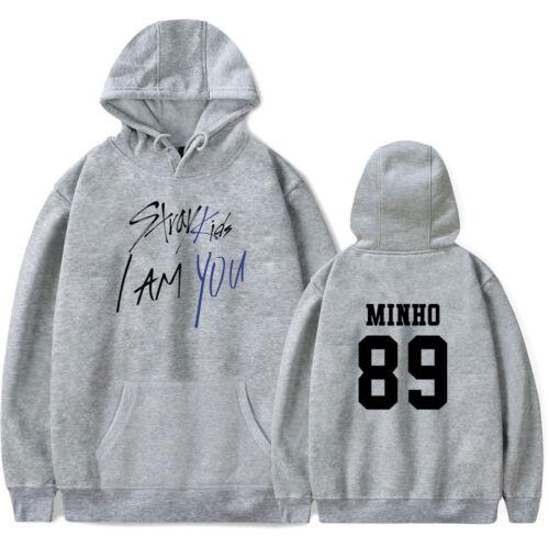 KPOP Stray Kids New Album I AM YOU Zipper Hoodie Coat Pullover Sweatshirt Jacket