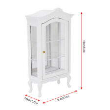 White Wall Frame 1:12 Wooden Scale Miniature Doll House Accessories Fiel Y9O2