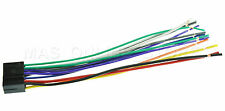 WIRE HARNESS FOR JVC KD-A605 KDA605 *PAY TODAY SHIPS TODAY*
