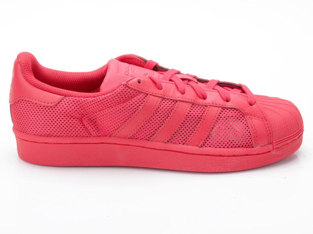 ADIDAS Superstar b42621 ROSSO Scarpe classiche da uomo