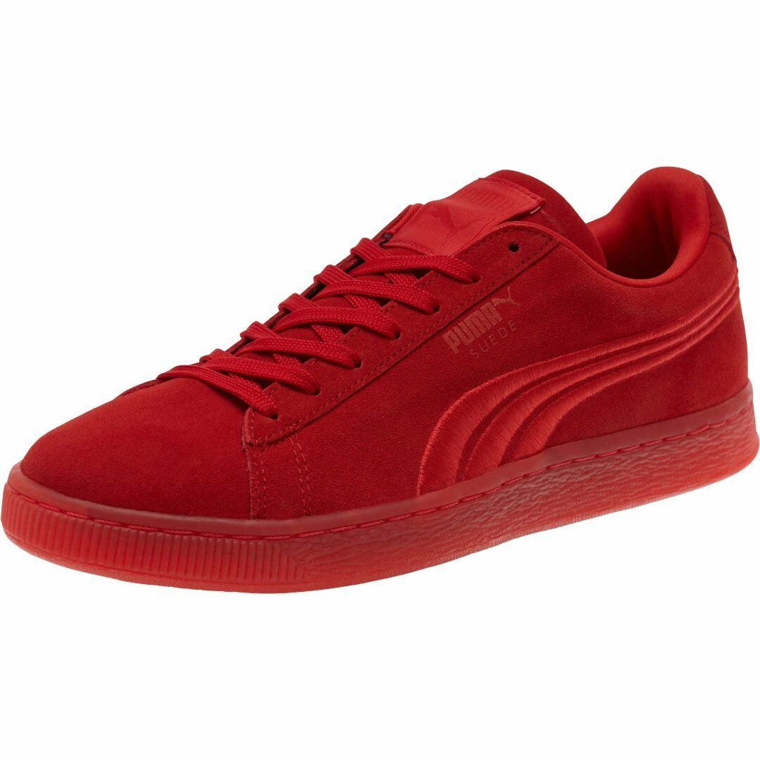 f6fd5cee67f Suede Badge Iced Red 364483-01 Men s 60s Low Embossed High Risk Puma  Classic oywsmq5660-Athletic Shoes