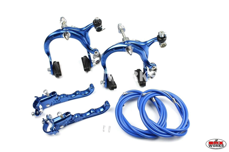 Genuine Dia-Compe Bmx MX883 De Pinza MX120 Conjunto De MX883 Freno De Palanca De Plata Azul Oscuro 1d2f2c