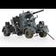 miniatura 1 - Forces OF VALOR tedesco 801008A 8.8CM 36/37 con Flak 38 + 5 cifre 1942 1:32