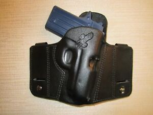 Details about Kimber Micro 380 reversible iwb or owb pancake holster   Braids Holsters