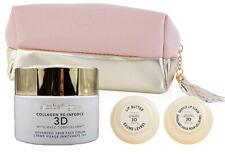 ELIZABETH GRANT Collagen 3D 24hr Face Cream w/ Lip Butter & Lip Scrub + Tote