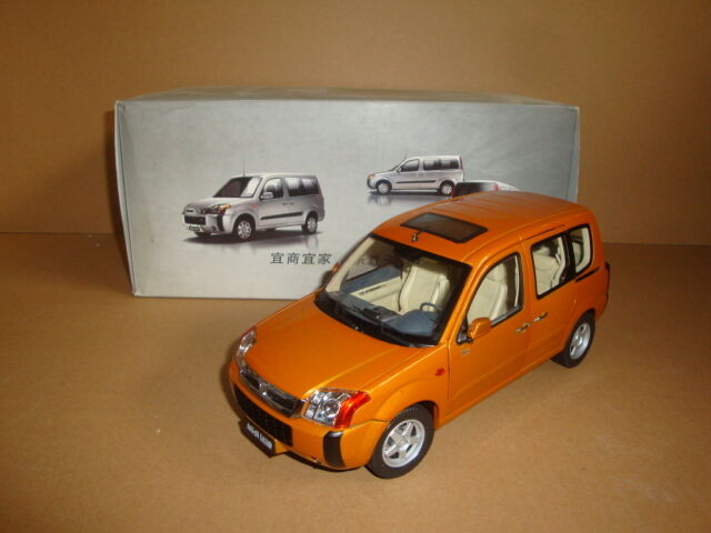 1 18 Foton Midi Suv Modelo Die Cast Modelo Color Naranja
