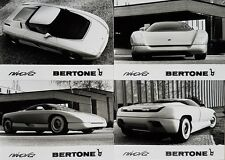 Bertone Nivola Concept Car Press Pack with Photos February 1990 In German