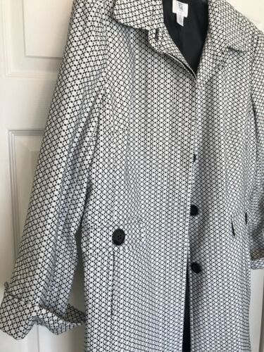 White Black Button Up And Apt Peacoat Womens 9 qwxnSBtH