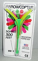 Arrowcopter Helicopter Flying Toy Soars 300 Feet In Package