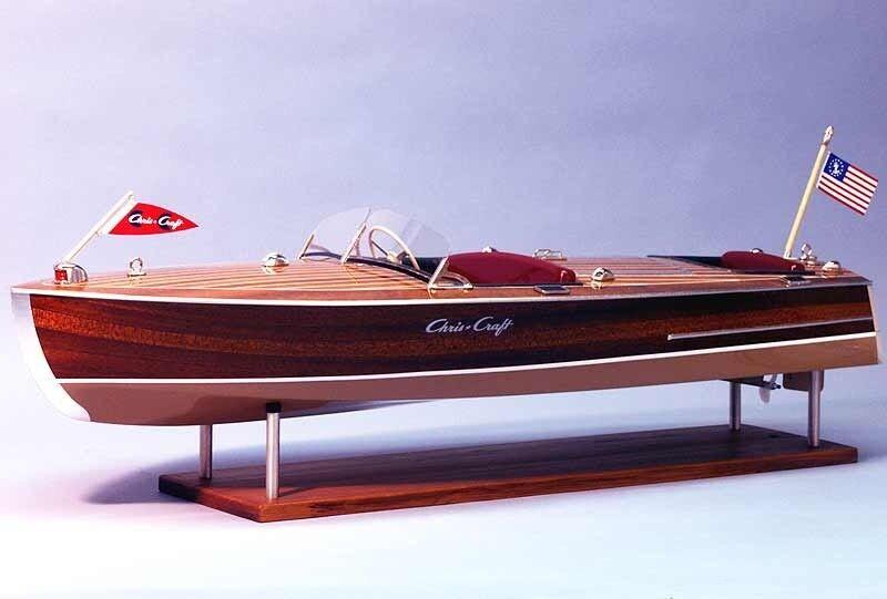 Dumas boats Chris-Craft RACER 1949 RC KIT-ds1249