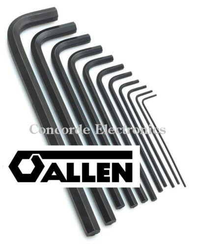 """CLEARANCE .050-3//8/"""" Allen Long-Arm Hex Key Set 56150 11-Pc Vinyl Pouch"""