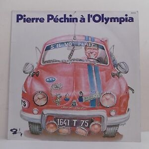 33T-Pierre-PECHIN-Disk-LP-12-034-OLYMPIA-Dauphine-Peugeot-BARCLAY-90072-Rare