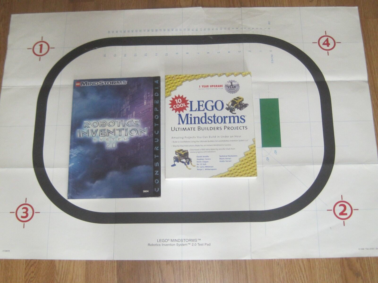 LEGO Mindstorms Ultimate Builders Projects-Constructopedia-Test Pad 2 0