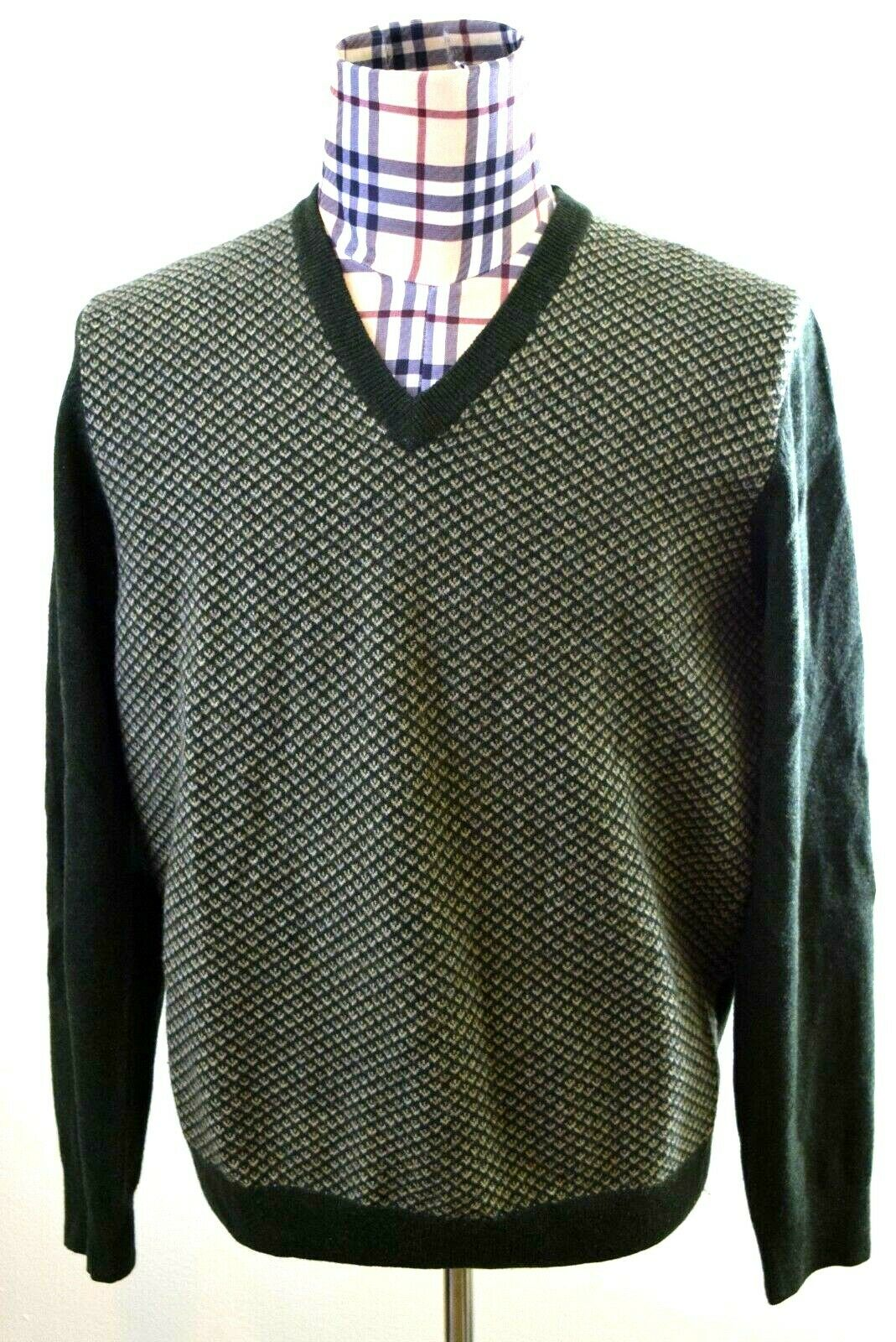 Brooks Bredhers 1818 Mens Wool Beautiful Sweater Large
