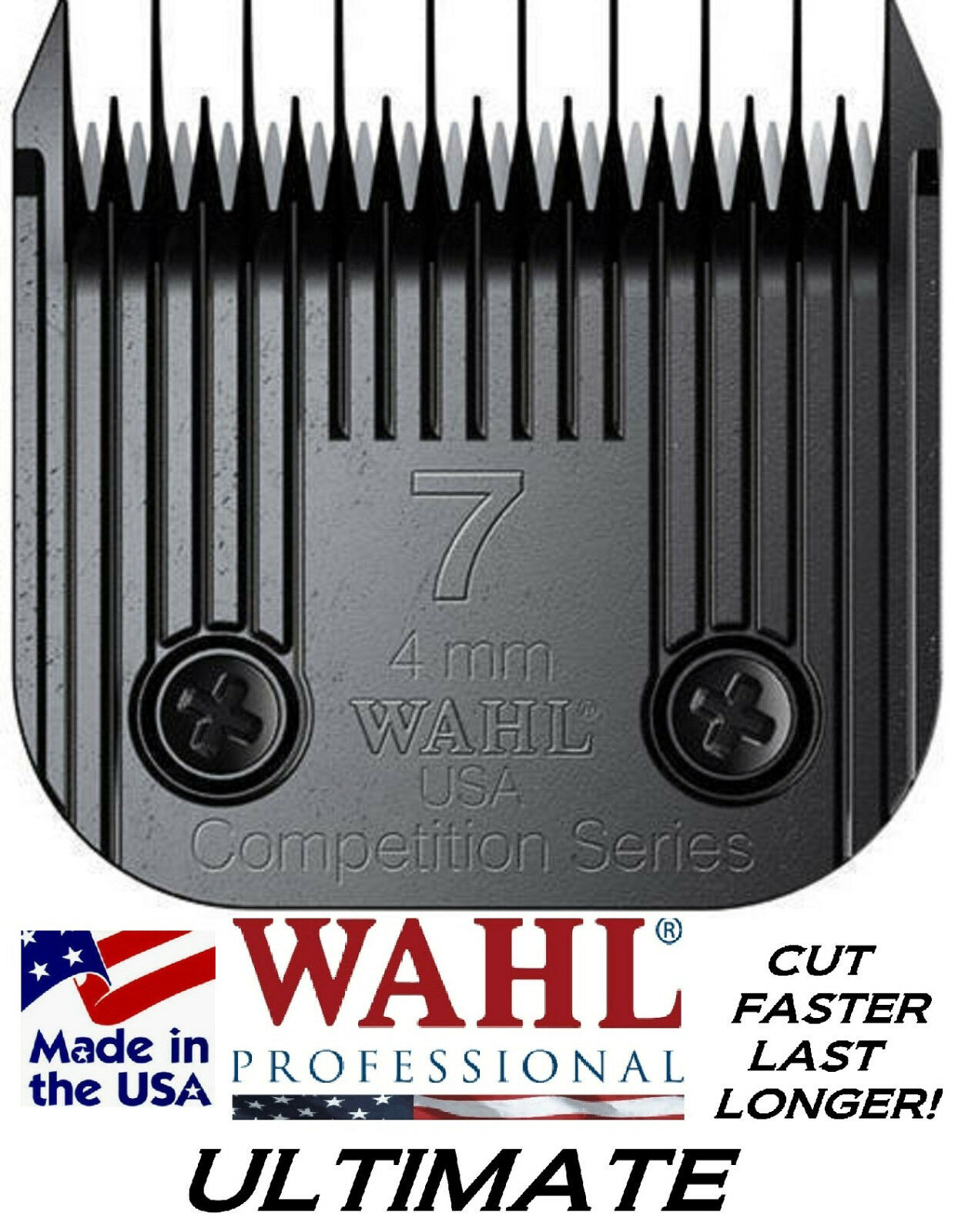Wahl ULTIMATE COMPETITION 7 Skip Tooth BLADEFit Oster A5 A6,Most Andis Clipper