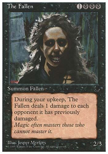 4x The Fallen Chronicles MtG Magic Black Uncommon 4 x4 Card Cards