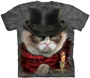 0bd98f373 Image is loading Grumpenezer-Scrooge-Grumpy-Cat-Christmas-Shirt -Mountain-Brand-