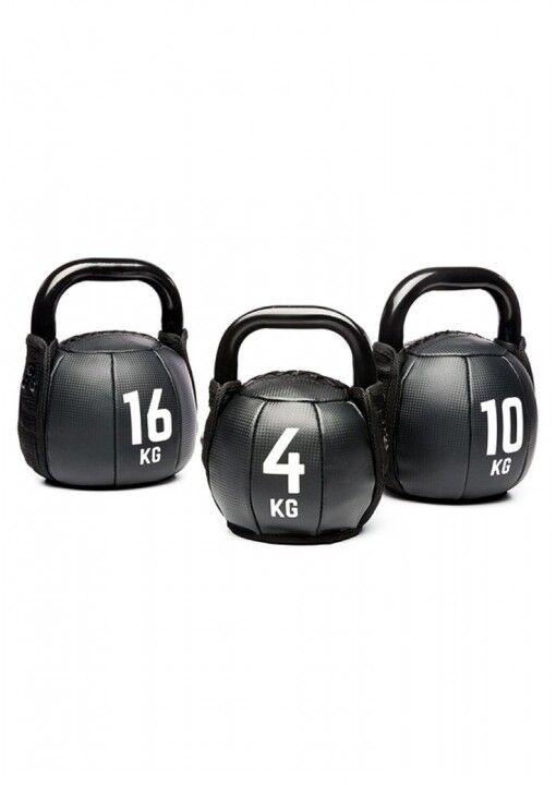 PVC KETTLEBELL 4-16 KG . Kraftsport, Fitness, Kugelhantel, Training,