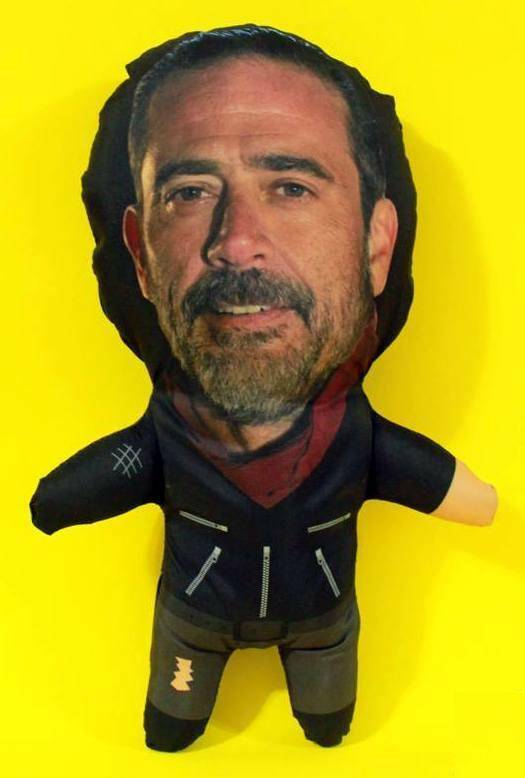 NEGAN DOLL 12  Soft Stuffed Toy Plush The Walking Dead Cloth Plushie TWD Figure
