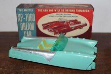 RARE 1950'S MATTEL XP-1960 FRICTION OPERATED DREAM CAR in ORIGINAL BOX #3