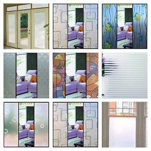 Image Is Loading High Quality Frosted Glass Window Film Privacy Doors