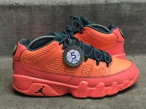 buy online 8d586 f132c Details about 2015 Jordan IX Retro 9 Low Bright Mango sz 9 Sneaker Savant  Grade 5/10 ORANGE