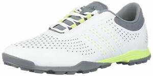 Details about Adidas Damen Adipure Sport Weiß Grau Spike-Less Golfschuhe US  9.5 Eu 42
