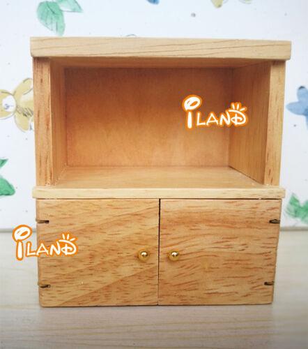 1:12 Dollhouse Miniature Furniture Wood Cabinet WD026