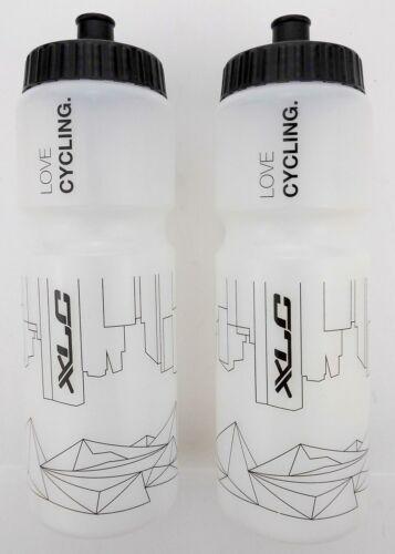2x vélo XLC potable Bouteilles 750 ml City of Mountains avec XLC Logo
