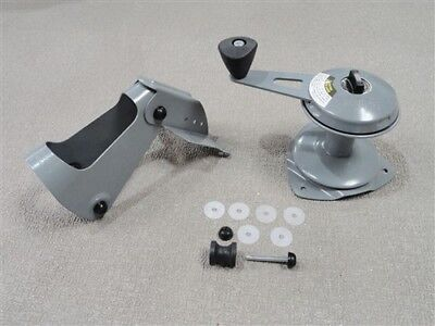NEW Attwood Anchor Lift System w// Stainless Pads Winch Mate Row Jon Boat 13710