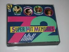 SUPER HIT MEMORIES CD BIG-BOX 3 CD´S MIT ROY ORBISON / THE KINKS / JOE COCKER