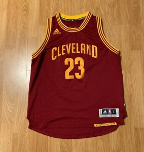 Details about Adidas LeBron James Cleveland Cavaliers Swingman Jersey Size Youth Large 14-16