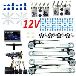 12v 4 t ren universal elektrische fensterheber heber. Black Bedroom Furniture Sets. Home Design Ideas