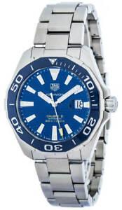 New Tag Heuer Aquaracer Calibre 5 Blue Dial 43MM Men's Watch WAY201B.BA0927
