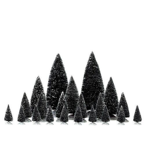 LEMAX arbres Set 21 pièces Noël Arbre dekobaum épicéa Sapins de Noël