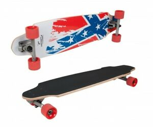 HUDORA-Hornet-Longboard-32-5-034-Flag-Design-1-Kids-Teens-Skate-Kinder-Long-Board
