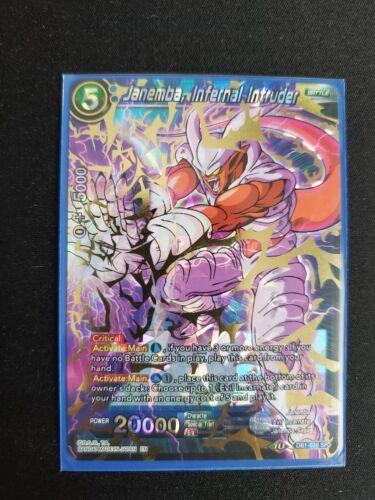 Infernal Intruder DB1-038 Dragon Ball Super Card Game DBS Janemba