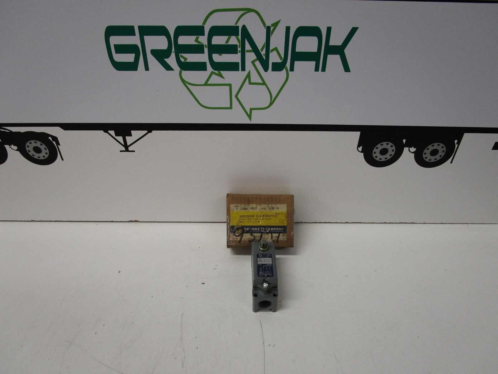 SQUARE D AW-14 SER C CLASS 9007 PRECISION LIMIT SWITCH - NOS - FREE SHIPPING
