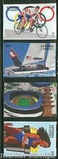 ANTIGUA ATLANTA OLYMPICS SET SCOTT#1975/78  IMPERFORATED MINT NH