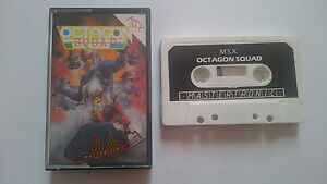 Game-octagon-squad-mastertronic-pal-uk-Good-condition-msx