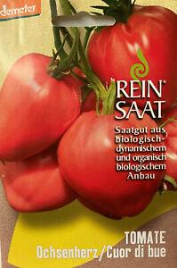 Tomate Ochsenherz - Saatgut - Samen  - Demeter - aus biologischem Anbau