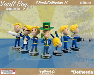 "Fallout 4 Vault Boy 111 Series 3 Bobblehead 5"" Figure Bethesda Model Toys Gift"