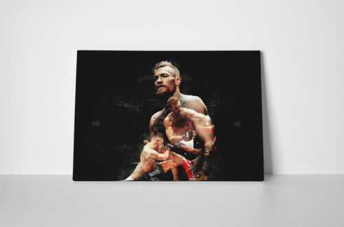 CONOR MCGREGOR UFC COLLAGE Gallery Wrapped Canvas Wall Art Ready To Hang