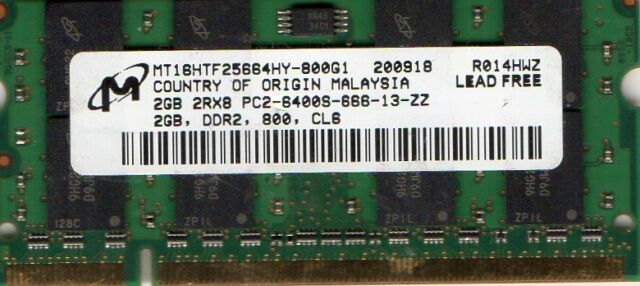 4GB MEMORY FOR ASUS EEE PC 1201T