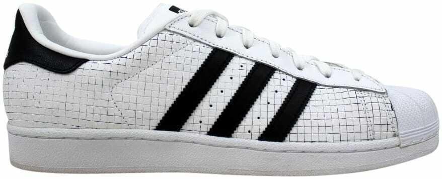 Adidas Superstar White Black AQ8333 Men's Size 11