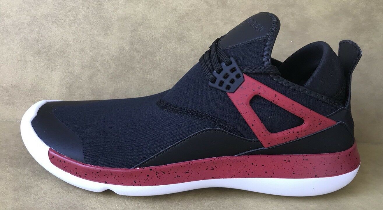 Nike Air Jordan Fly 89 Mens Trainers 940267 002 Sneakers Shoes Black/Red Sz 10.5