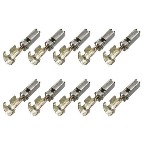 10x contacto MCP hpcs hembra reforzado los conectores o enchufes VW 104 428.01 104428.01