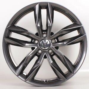 18 Zoll Felgen MW08 VW Beetle EOS Golf Passat T-ROC Tiguan Touran Gunmetal