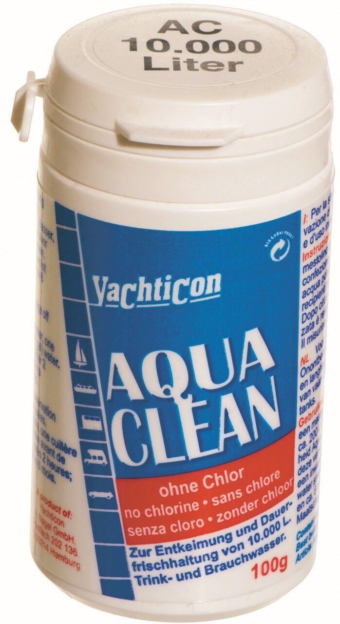 Aqua Clean Clean Clean de yachticon AC 10.000 100 gramme de poudre pour 10000 litres d'eau potable 298fed